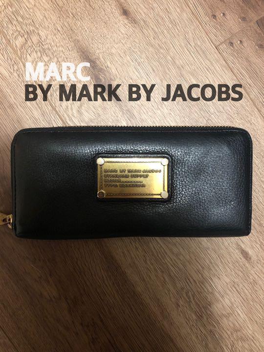 402651845cab メルカリ - MARC by MARC JACOBS ブラック 長財布 【マーク バイ マーク ...