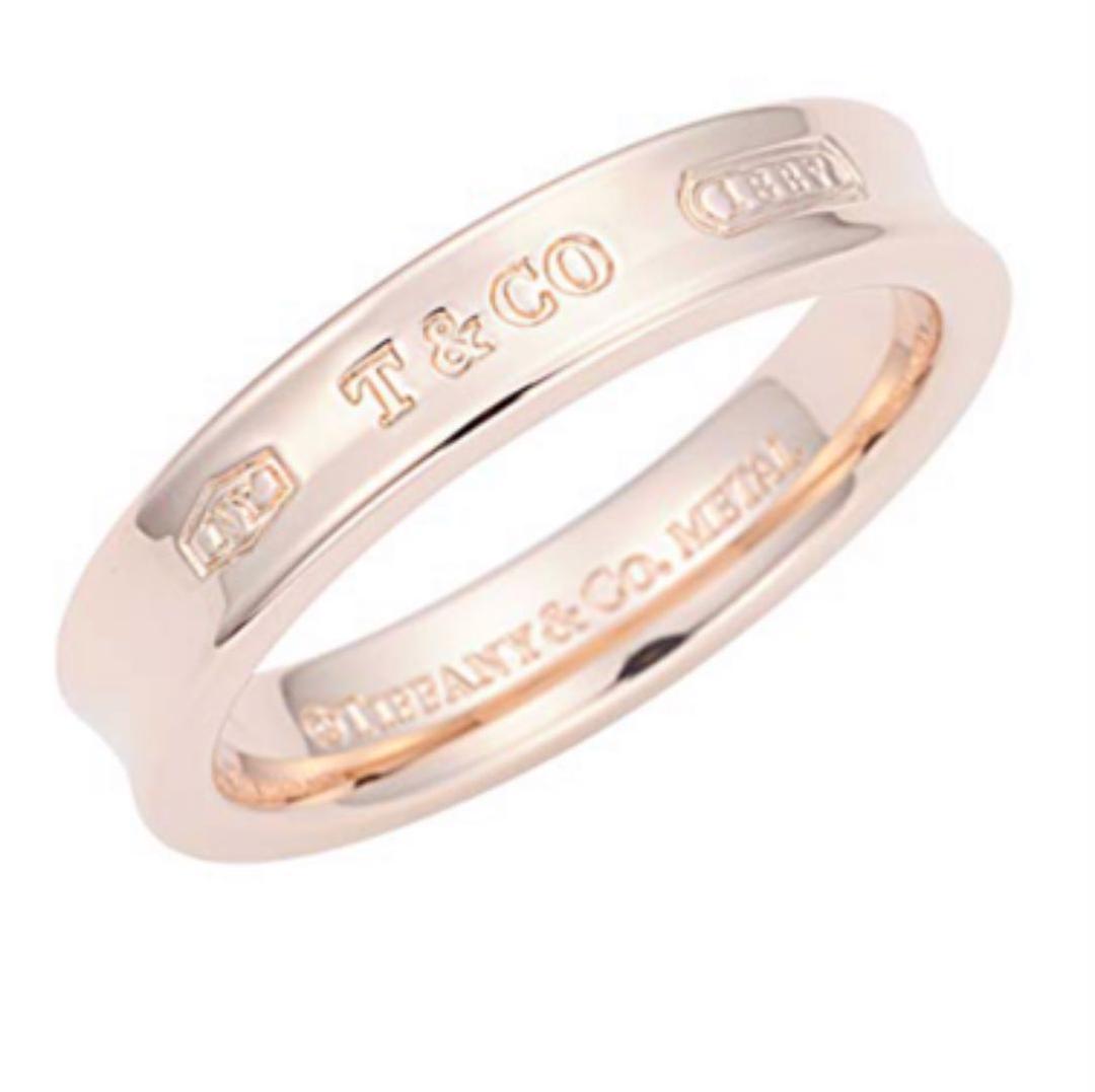 premium selection 54d8c bc35b TIFFANY&Co.(ティファニー) リング 2012年限定品 ピンクゴールド(¥21,000) - メルカリ スマホでかんたん フリマアプリ