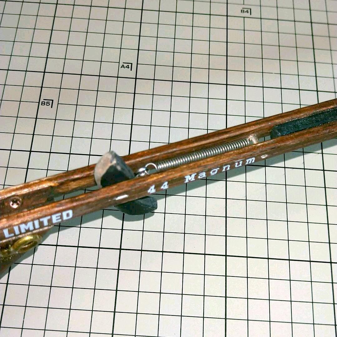 鉄砲 スコープ 割り箸