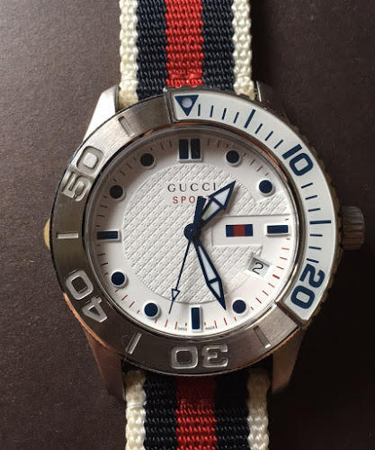best service 08e9c 1708b 値段見直しました!GUCCI SPORTS グッチスポーツ 腕時計(¥48,000) - メルカリ スマホでかんたん フリマアプリ