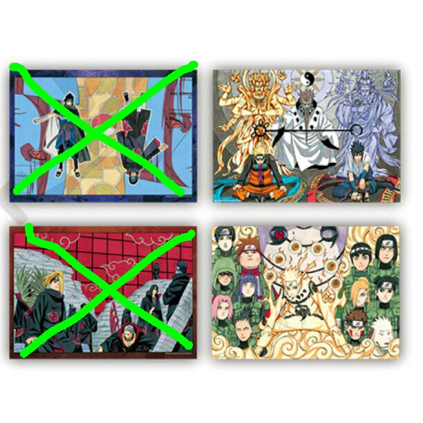 メルカリ ナルトイラストポスターコレクション 3000 中古や未使用