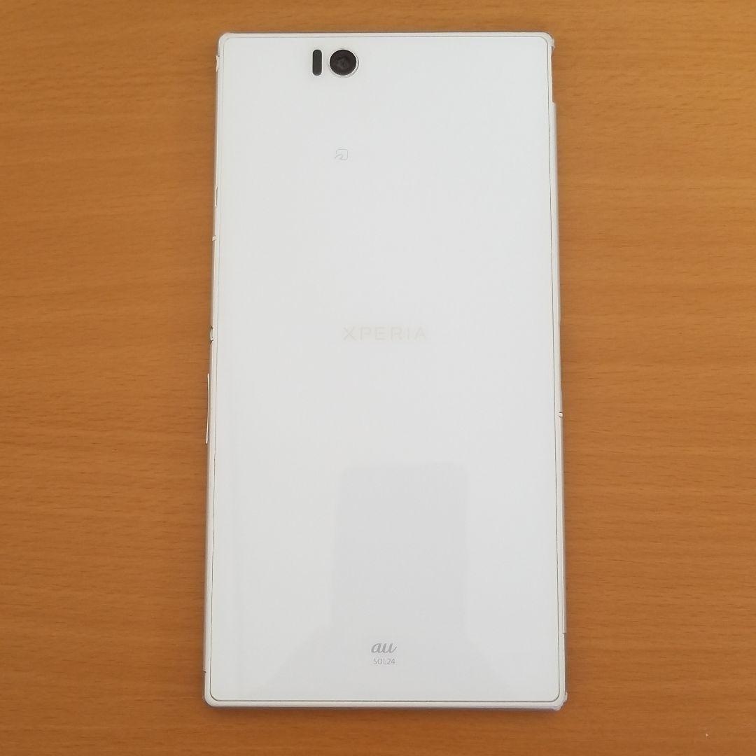 1ac848b5e2 メルカリ - xperia z ultra au SOL24 中古 ホワイト 【スマートフォン ...