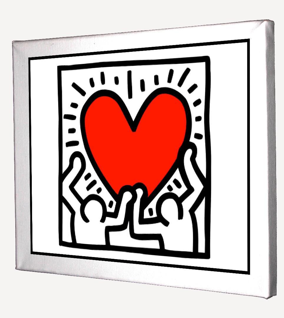 メルカリ 2枚セット キースへリング バンクシー キャンバスアート 模写 ウェルカムボード 4 500 中古や未使用のフリマ