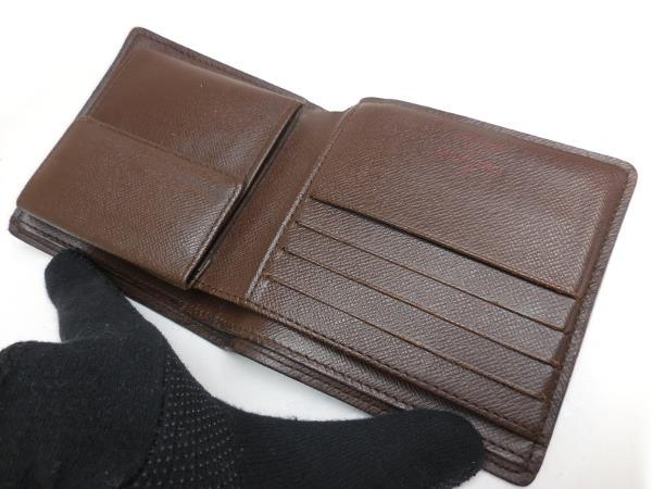online store 9efef f70e6 ルイヴィトン ダミエ マルコ メンズ 二つ折り財布 N61675 男性用(¥26,800) - メルカリ スマホでかんたん フリマアプリ