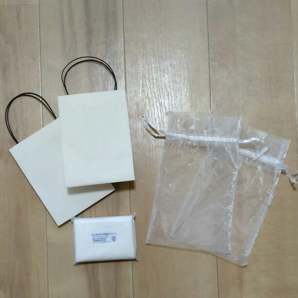 ギフトセット 紙袋 ラッピング アクセサリー(¥300) , メルカリ スマホでかんたん フリマアプリ