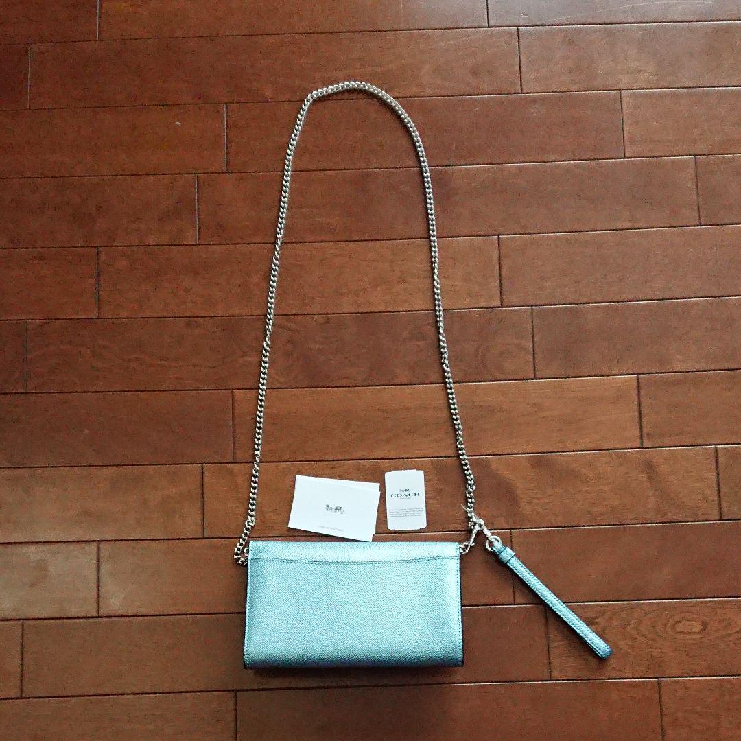 promo code 676cd ab7c9 コーチ ショルダーバッグ 財布 クラッチ(¥15,000) - メルカリ スマホでかんたん フリマアプリ