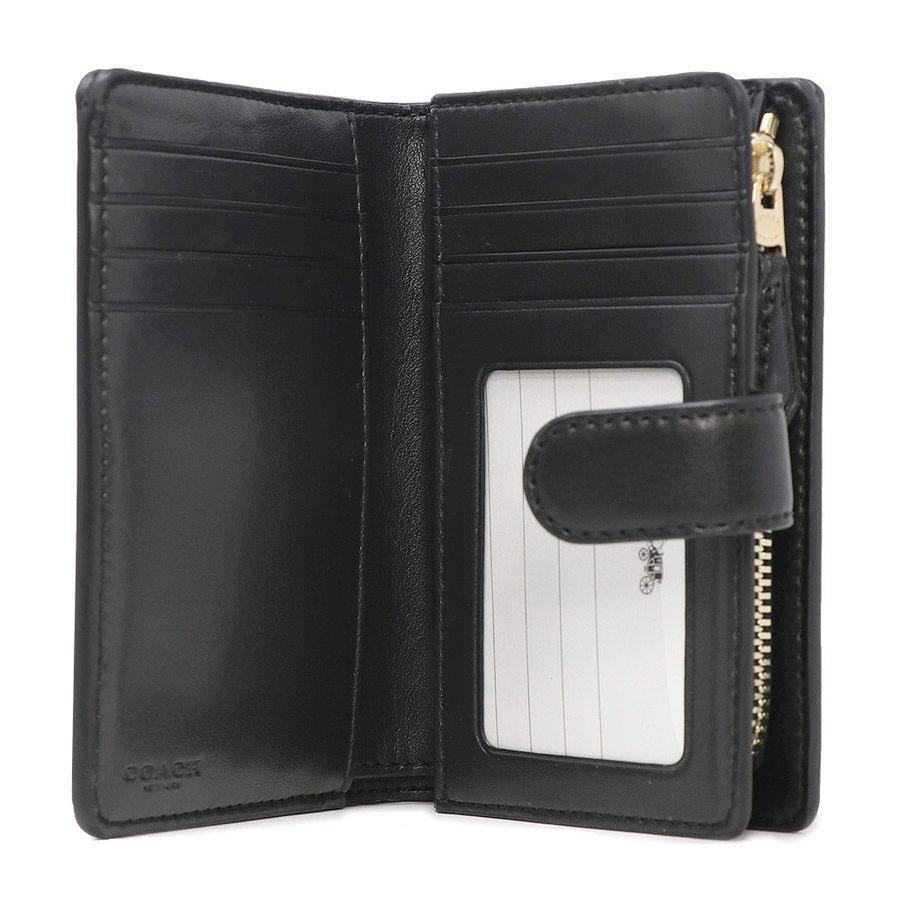 factory authentic 3a31f f6a47 新品☆コーチ F23553 IMAA8 二つ折り財布 ブラウン×ブラック(¥7,000) - メルカリ スマホでかんたん フリマアプリ