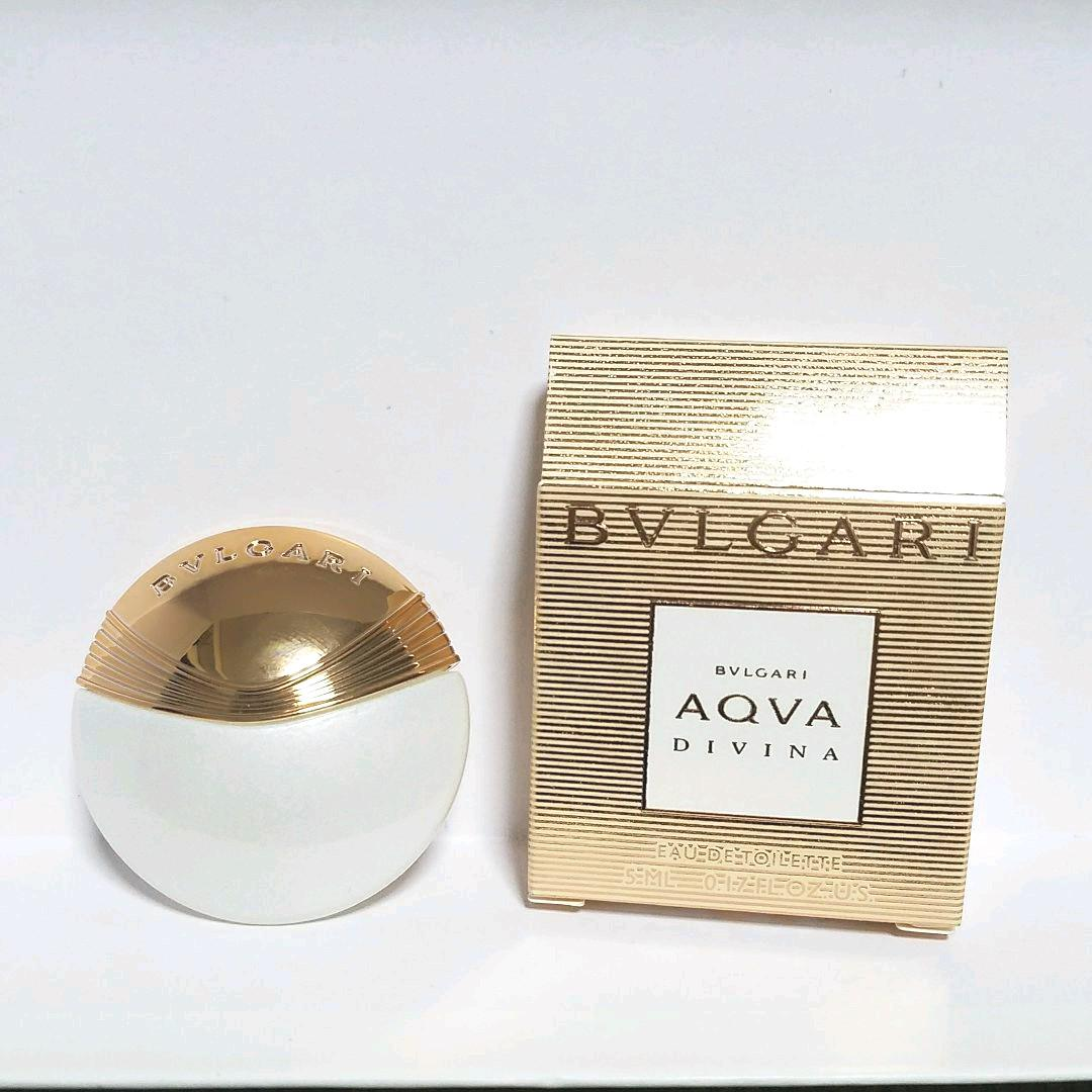 new product df75d cfe16 BVLGARI 香水 ブルガリ アクア ディヴィーナ オードトワレ 5ml(¥ 900) - メルカリ スマホでかんたん フリマアプリ