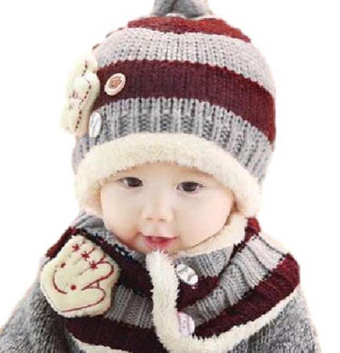 938482e17416a メルカリ - ベビーニット帽 マフラー 2点セット 【帽子】 (¥1,500) 中古 ...