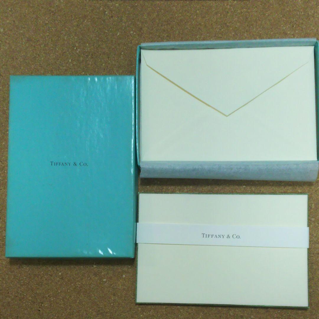 buy popular c2d38 4e355 ティファニー レターセット(¥300) - メルカリ スマホでかんたん フリマアプリ