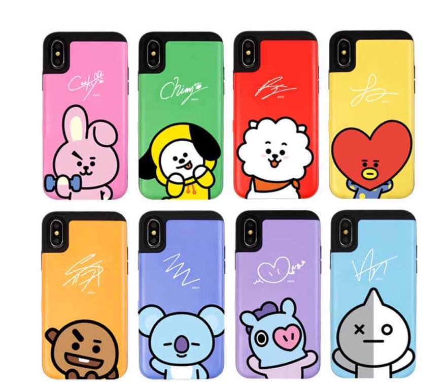 6f20f4a39b メルカリ - BT21 カード バンパー スマホ ケース iPhone GALAXY 【iPhone ...