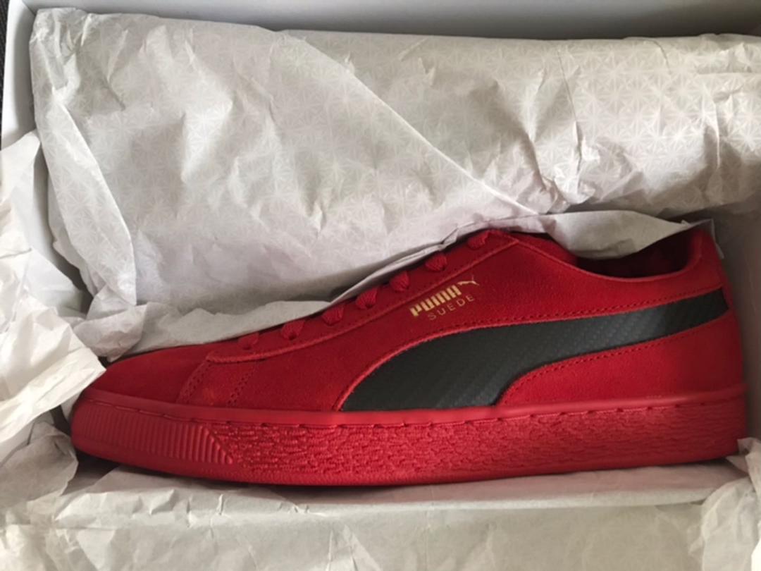 sports shoes adb11 97f99 新品 Puma SF suede 50 ferrari フェラーリー(¥ 9,999) - メルカリ スマホでかんたん フリマアプリ