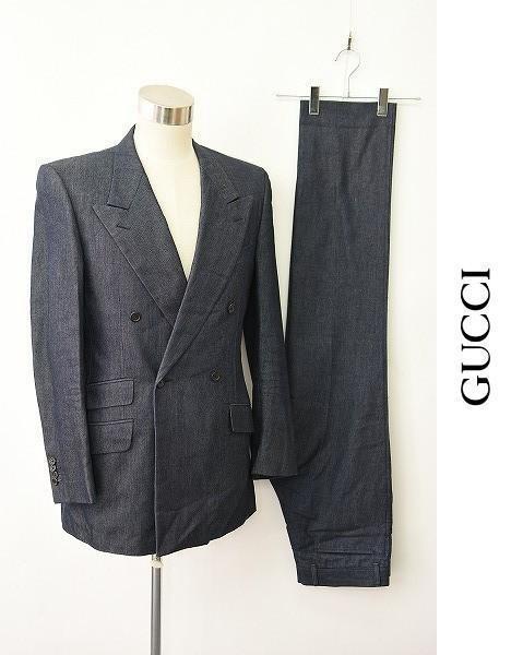 on sale 68448 43520 MN-0328 美品 GUCCI グッチ スーツ(¥36,000) - メルカリ スマホでかんたん フリマアプリ