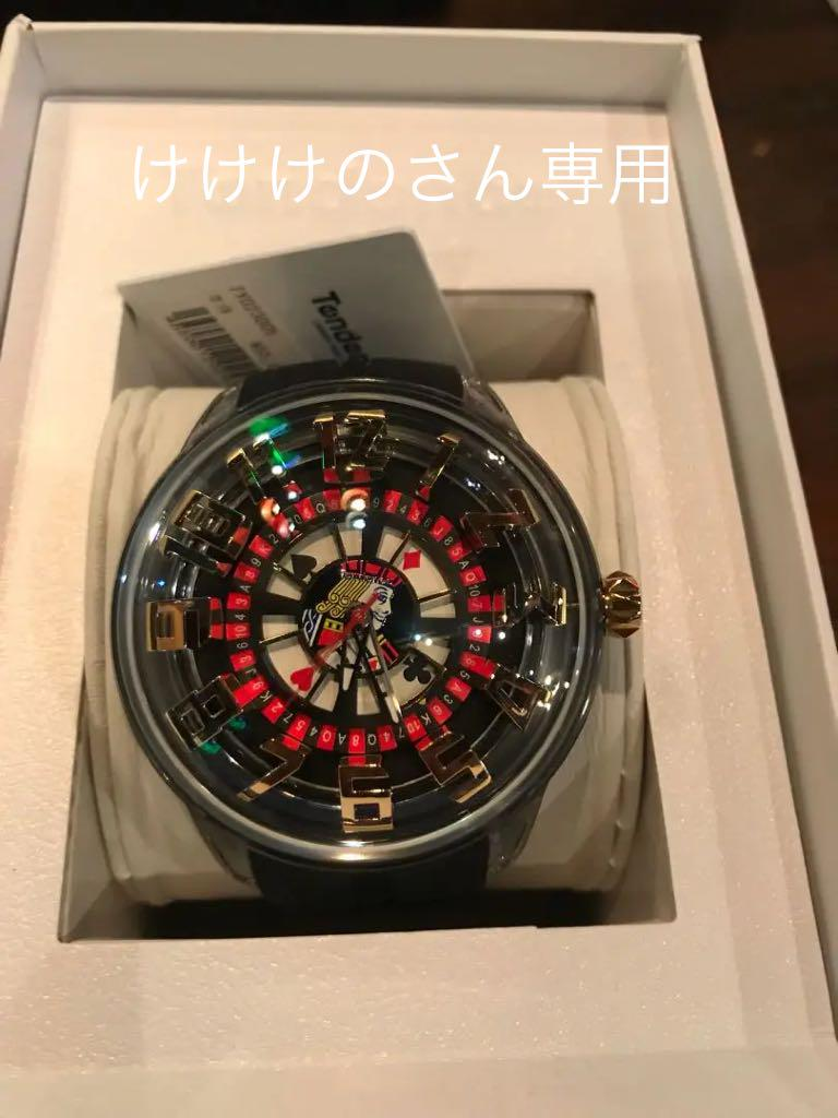 buy popular a247d 65649 Tendence トランプ柄時計