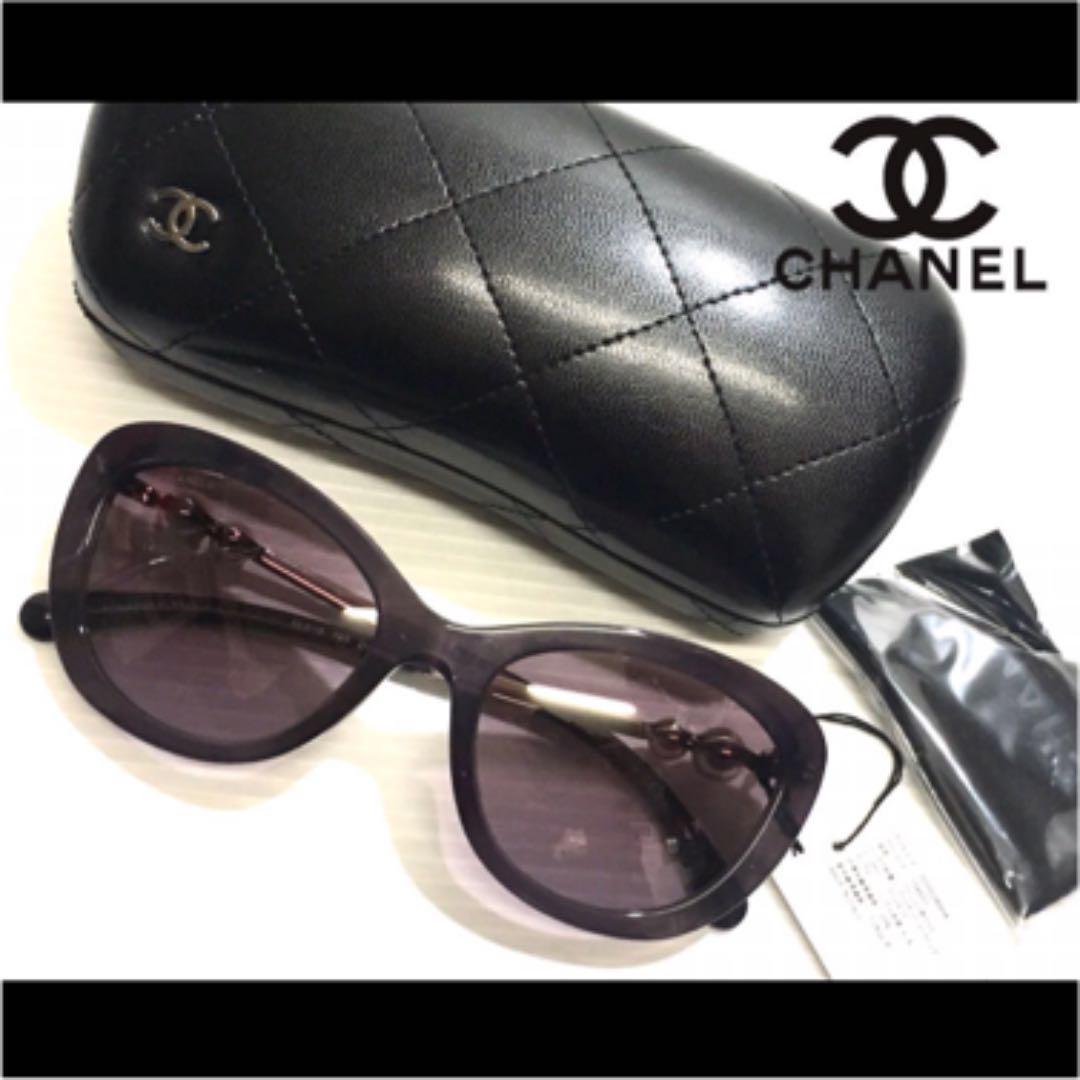 82c207ef1845 メルカリ - 新品 CHANEL シャネル サングラス 5340-H パープル 紫 パール ...
