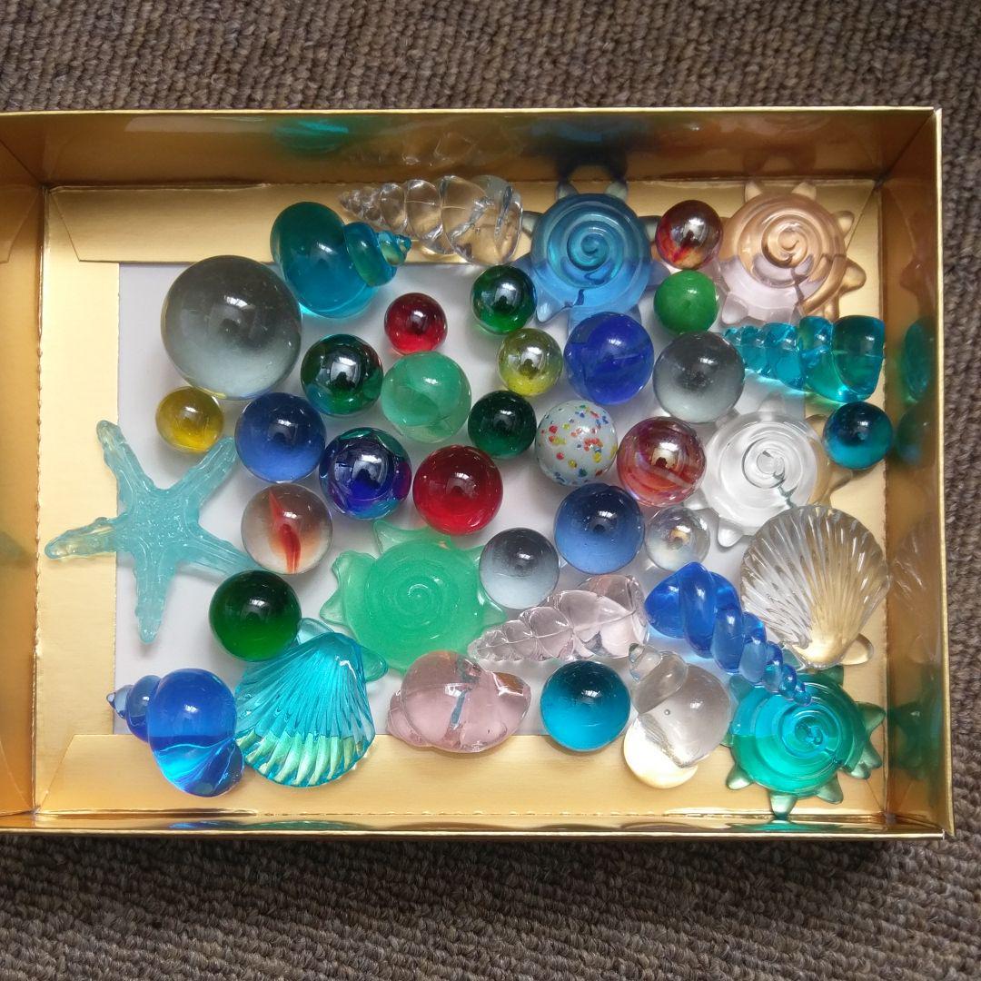 メルカリ インテリア ビー玉 貝殻の置物 666 中古や未使用のフリマ