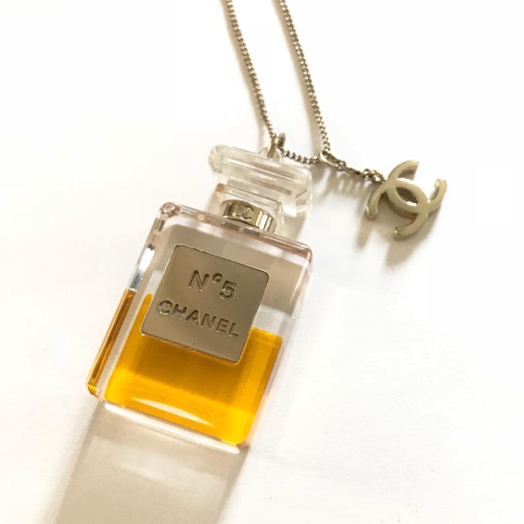c1e8a9c50513 メルカリ - CHANEL シャネル 新品 香水ボトル ペンダント ネックレス ...
