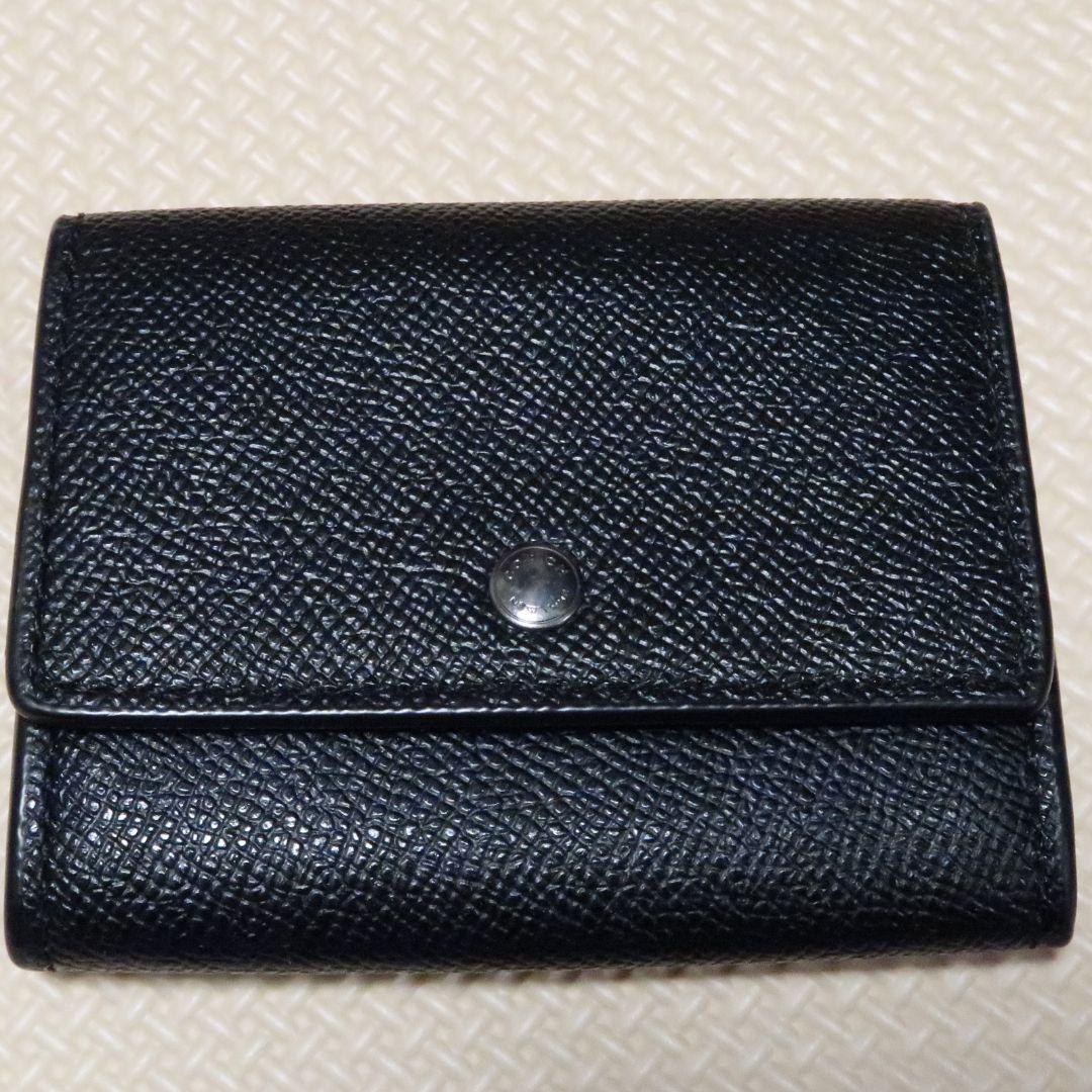 big sale a1bbb 10643 コーチ メンズ ミニ財布 小銭入れ ブラック(¥2,900) - メルカリ スマホでかんたん フリマアプリ