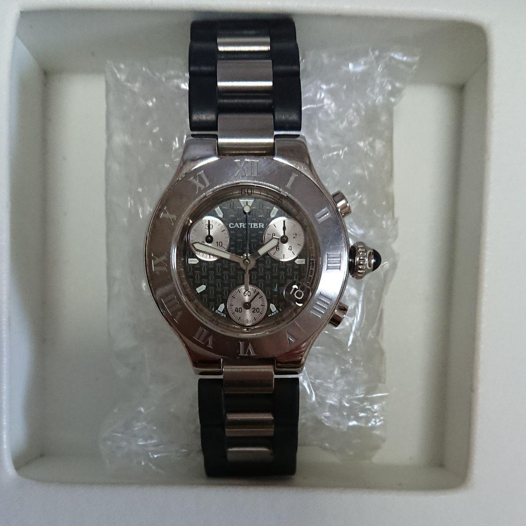 new styles 0c039 5c322 希少 カルティエ クロノスカフ レディース腕時計(¥155,000) - メルカリ スマホでかんたん フリマアプリ