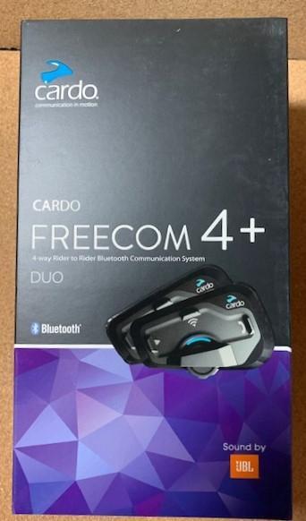 Cardo FREECOM 4+ DUO 2台 フリーコム 4プラス