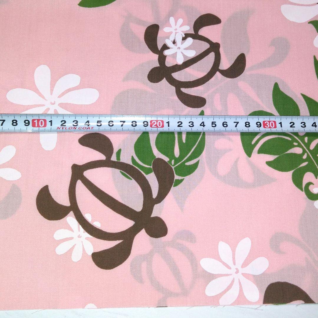 メルカリ No 29 27 5cm ハワイアン生地 ホヌ ピンク 生地 糸 8 中古や未使用のフリマ