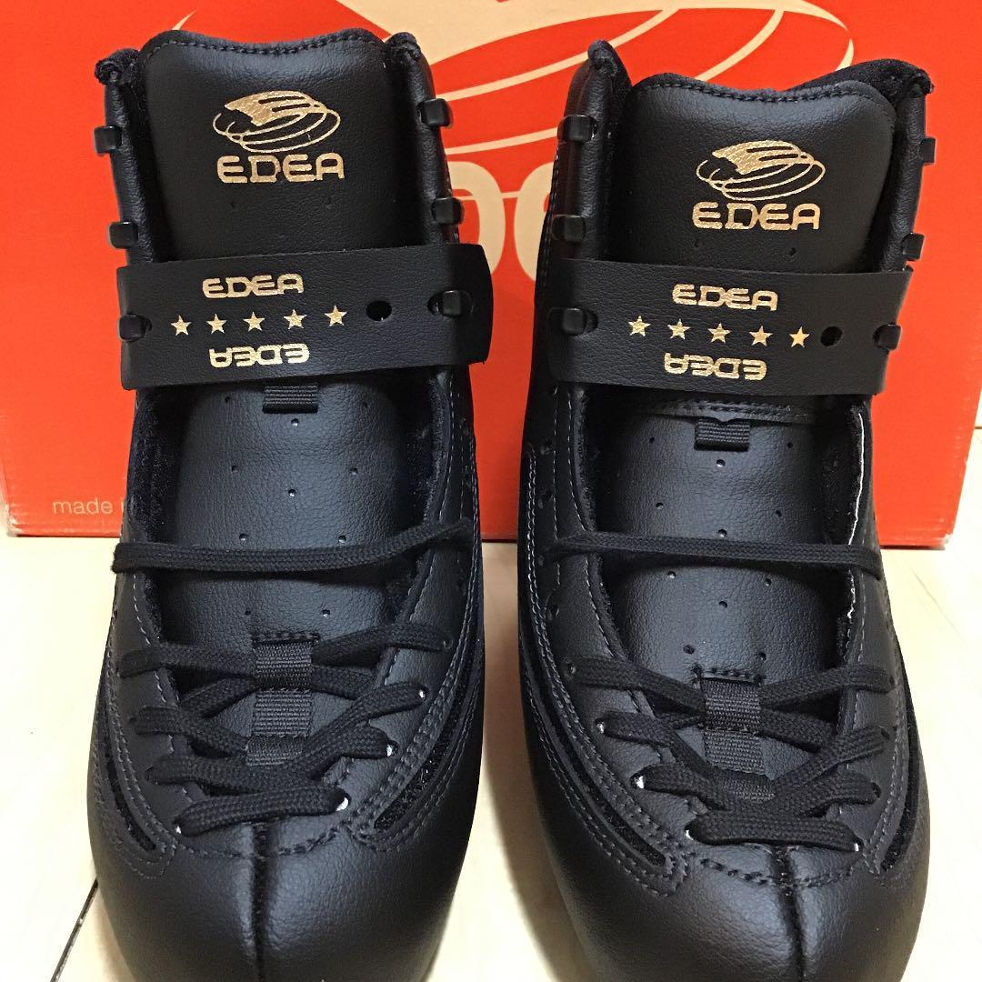 新品☆EDEA Ice Fly E type/アイスフライ・Black表示225