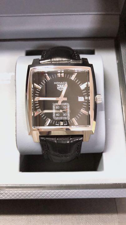 cheap for discount 0c704 f1b91 値下げ!腕時計 タグホイヤー モナコ クォーツ(¥130,000) - メルカリ スマホでかんたん フリマアプリ