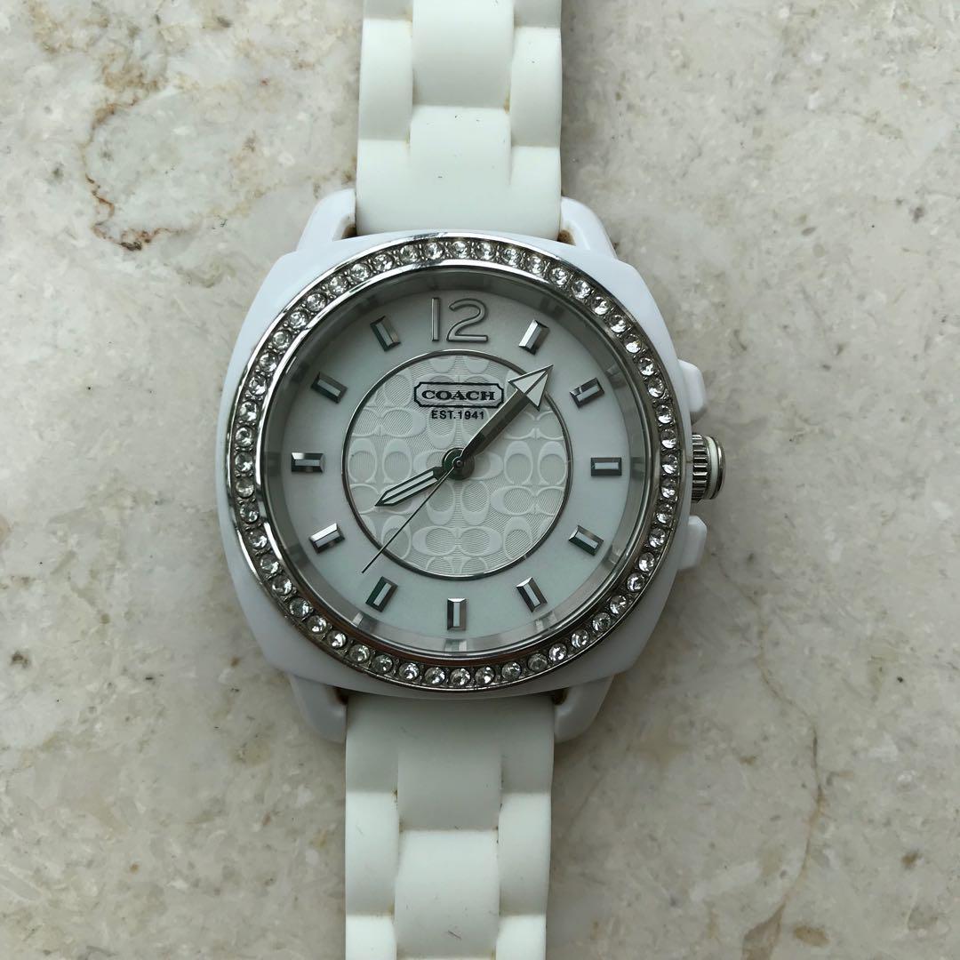 df1ae37b2c70 メルカリ - COACH♡レディース腕時計 人気 ボーイフレンド ライン ...