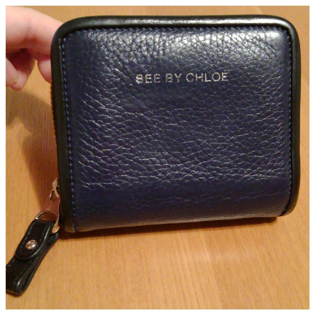 hot sale online 6998d 11b62 SEE BY CHLOE ネイビー折り財布 シーバイクロエ(¥2,800) - メルカリ スマホでかんたん フリマアプリ