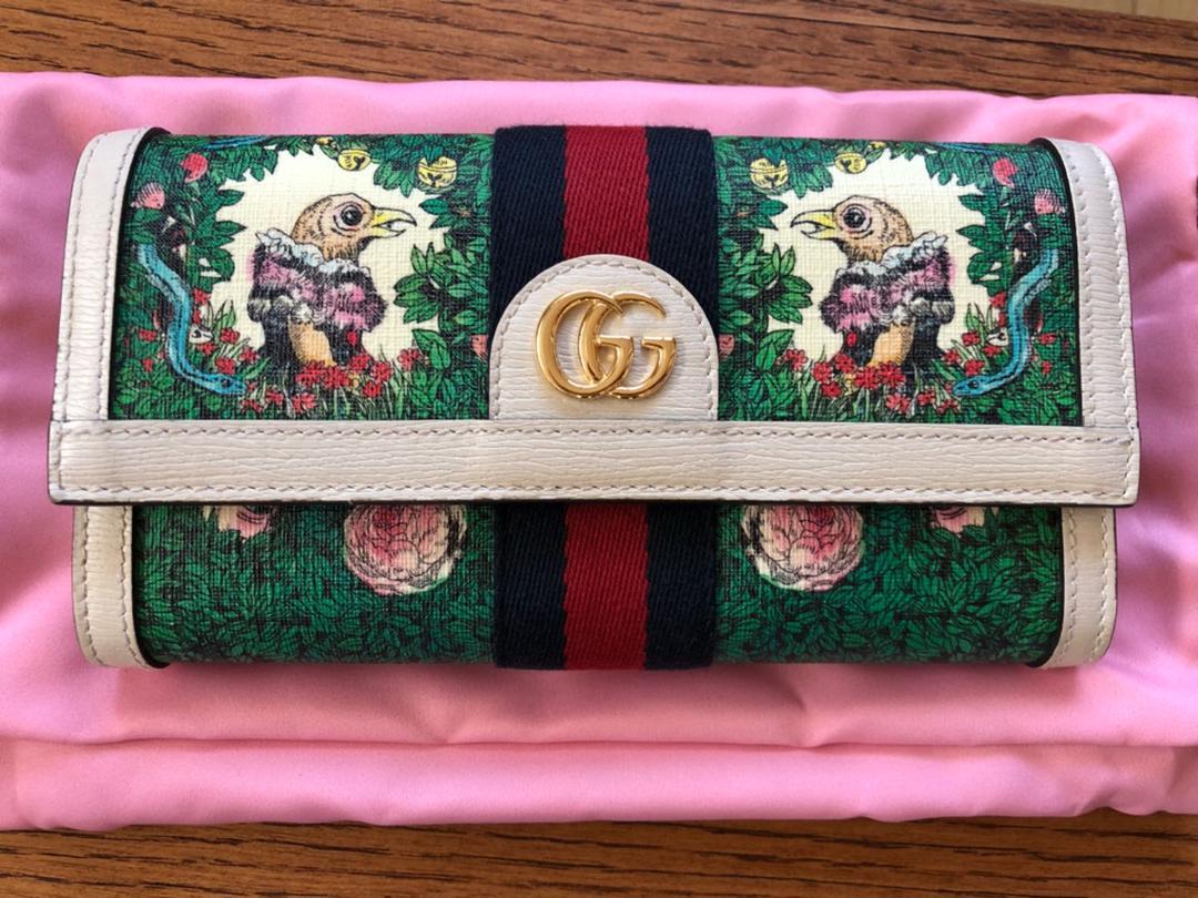 on sale 8b520 055b4 GUCCI グッチ ヒグチユウコ 財布(¥92,500) - メルカリ スマホでかんたん フリマアプリ