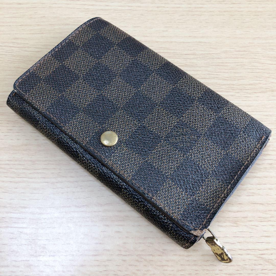 huge discount d02f5 ab0fd Louis Vuitton 正規品 ルイヴィトン 財布 L型 ダミエ柄(¥16,400) - メルカリ スマホでかんたん フリマアプリ