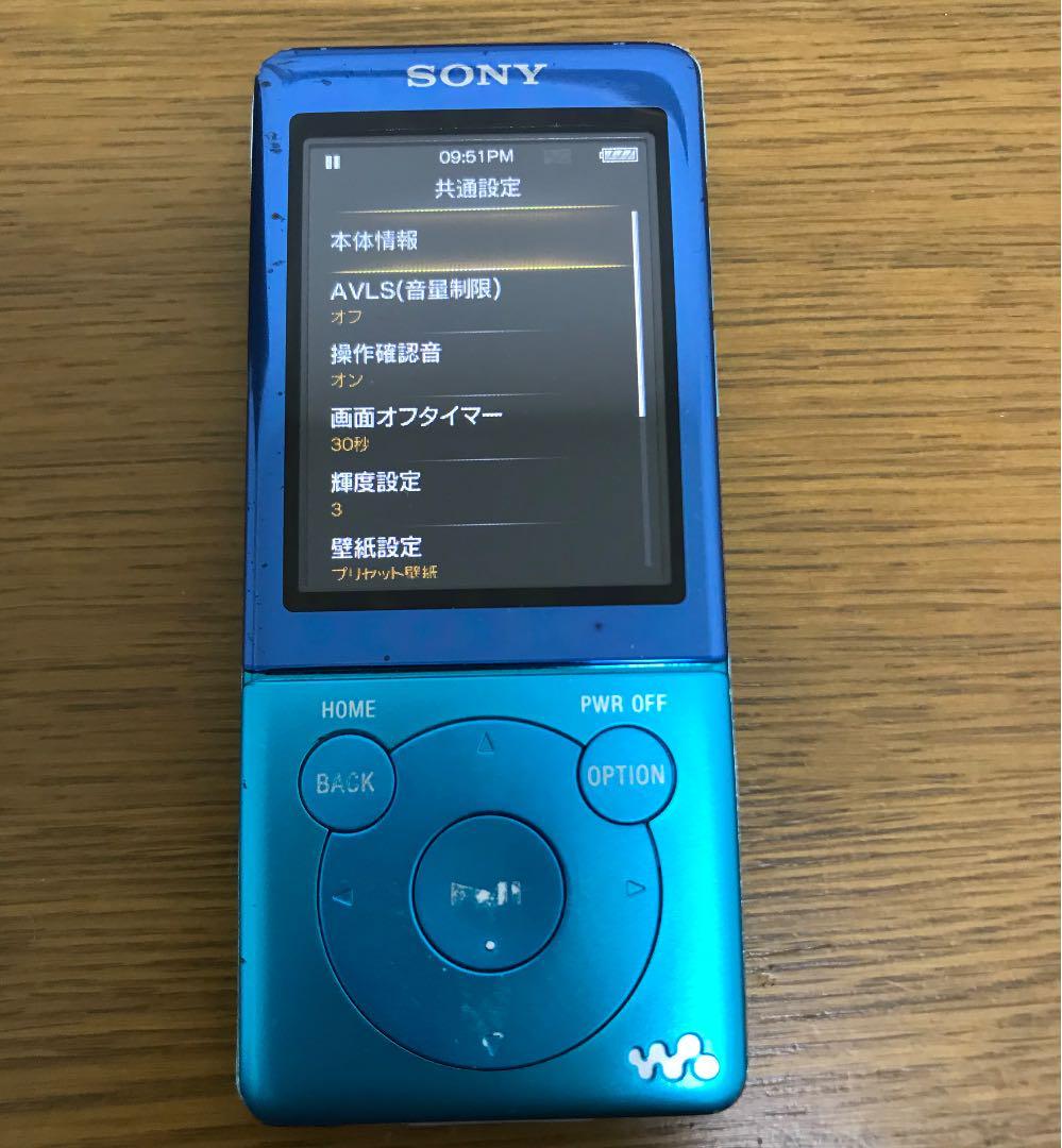 メルカリ Sony ウォークマン Nw S774k ポータブルプレーヤー 3 000 中古や未使用のフリマ