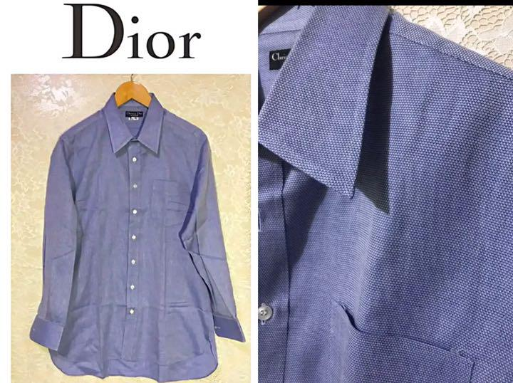 hot sale online 609a5 b4919 ディオール Dior ☆伊勢丹高級美品!高級生地 シャツ メンズ 紳士(¥6,800) - メルカリ スマホでかんたん フリマアプリ