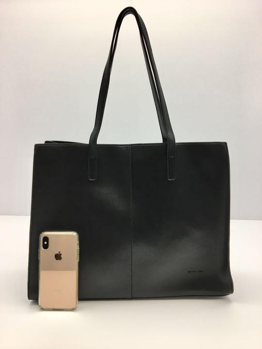 wholesale dealer ba98c a6022 ブラック 大きめ リクルート 就活 トートバッグ 高級 ブランド ビジネスバッグ(¥3,700) - メルカリ スマホでかんたん フリマアプリ