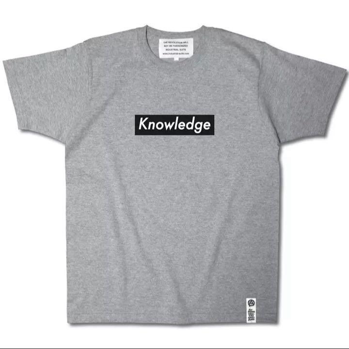 メルカリ - Knowledge ボックスロゴ Tシャツ グレー 【Tシャツ ...