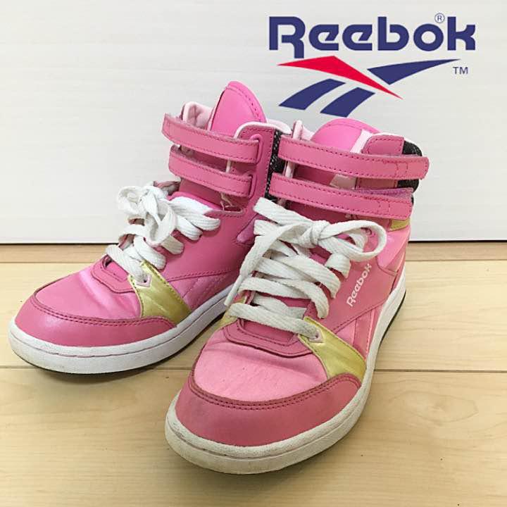 b203fa8f179d8 メルカリ - リーボック 22 ハイカット スニーカー 靴 キッズ ...