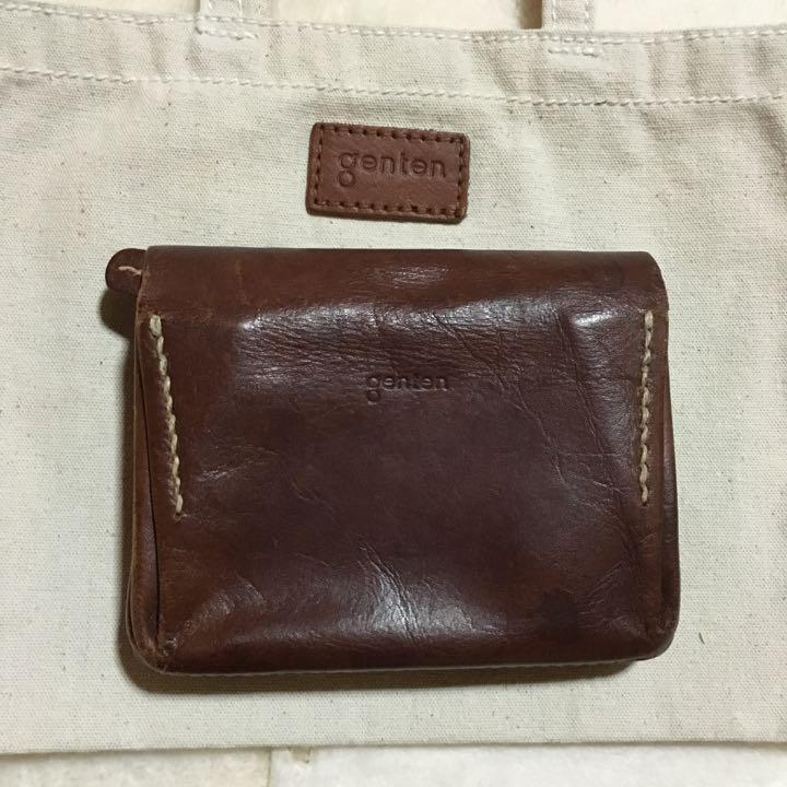 7918d2059dae メルカリ - ゲンテン シャドーオイル財布 【折り財布】 (¥3,999) 中古や ...