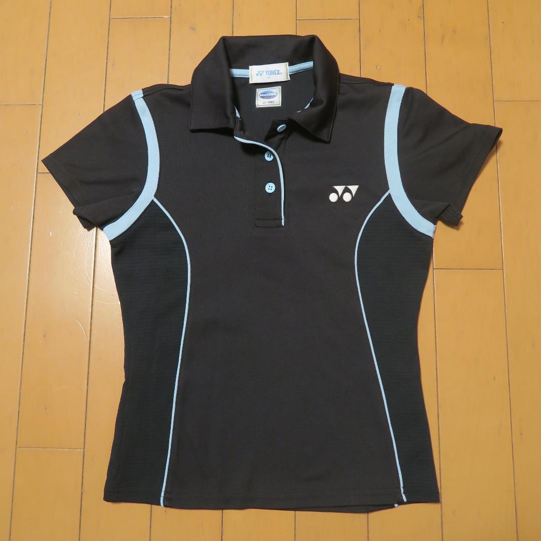 e16847741753e メルカリ - YONEX ヨネックス ゲームシャツ SSサイズ 黒 ジュニア ...
