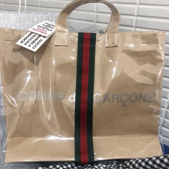 newest 42953 f685e コムデギャルソン×グッチ コラボバッグ(¥99,950) - メルカリ スマホでかんたん フリマアプリ
