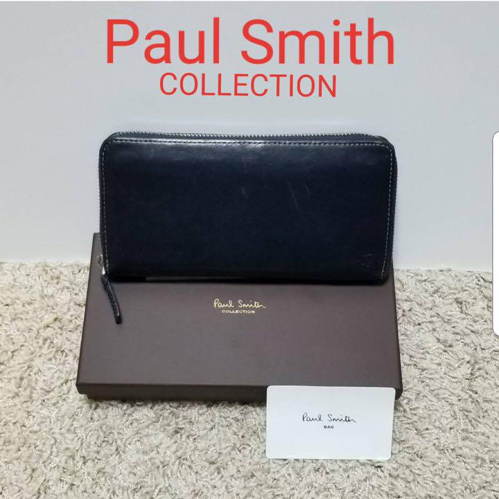 20328a553771 メルカリ - 大人気 ポールスミス コレクション 長財布 ラウンド ...