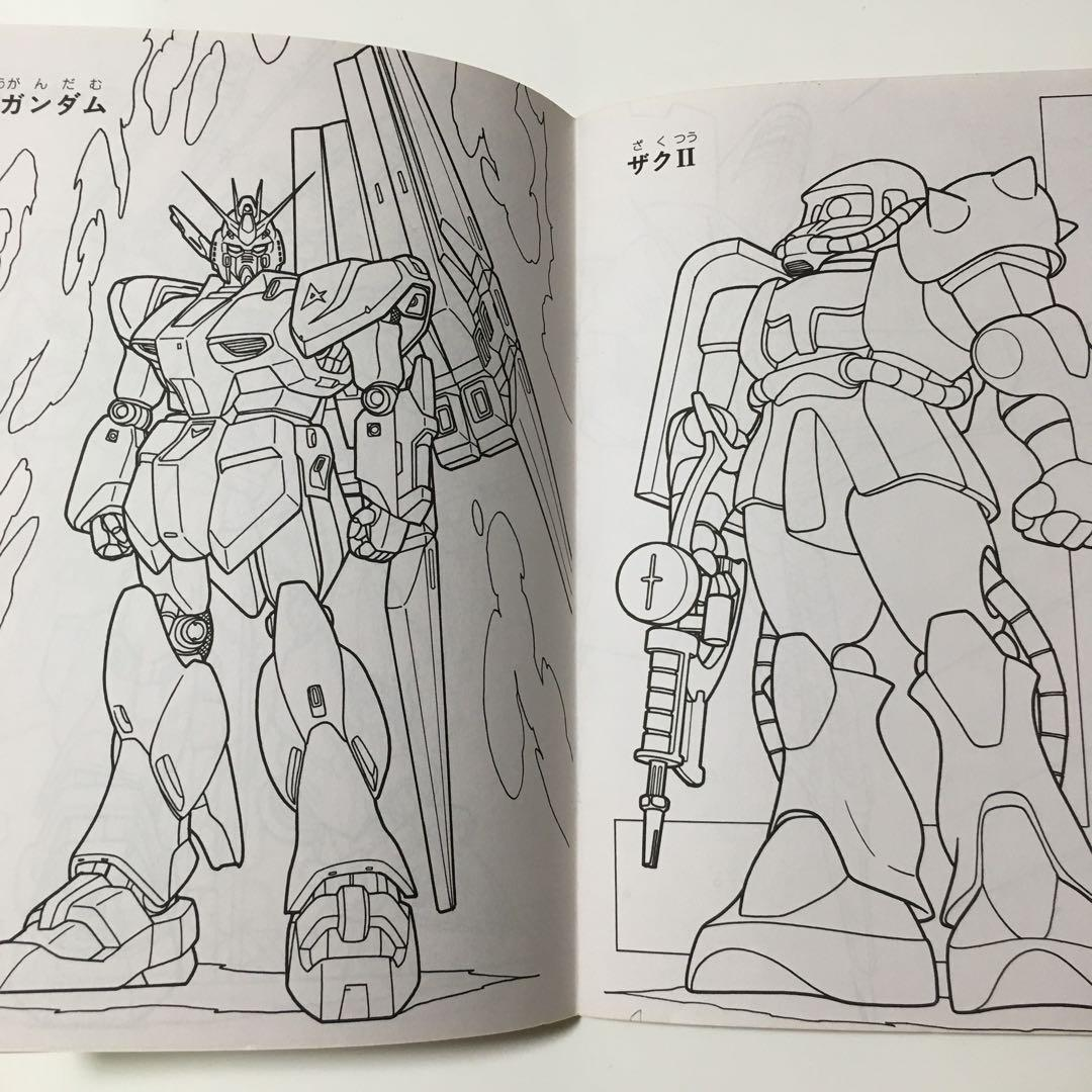昭和レトロ セイカ ぬりえ 機動戦士ガンダム Gundam F91 新品未使用品700 メルカリ スマホでかんたん フリマアプリ