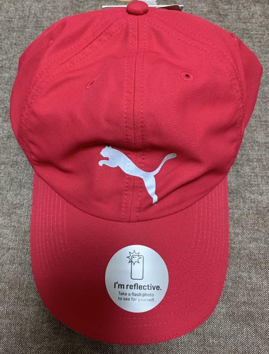40deac6fd2788 メルカリ - junk プーマ キャップ 赤 レッド 帽子 ユニセックス UVカット ...