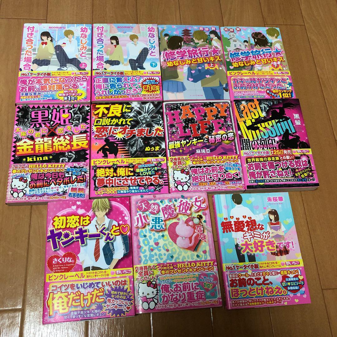 メルカリ 野いちごケータイ小説 11冊セット 文学 小説 700