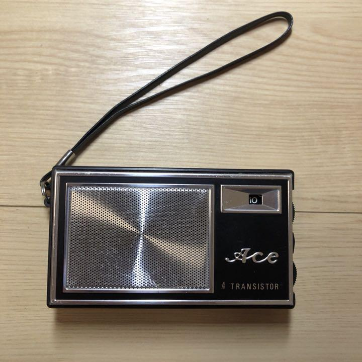 メルカリ - ACE 4 トランジスタラジオ 中古 組立済 (¥2,600) 中古や未 ...