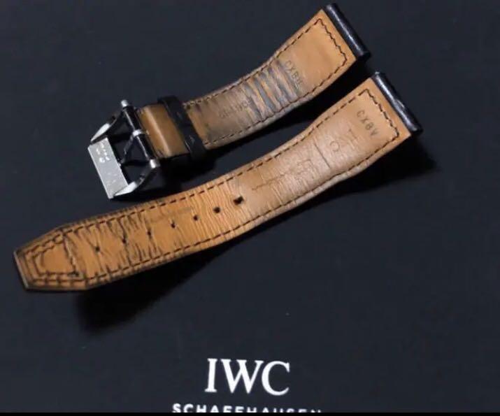 sale retailer f3422 8c3da IWC マーク18 純正革ベルト 尾錠付き(¥14,000) - メルカリ スマホでかんたん フリマアプリ