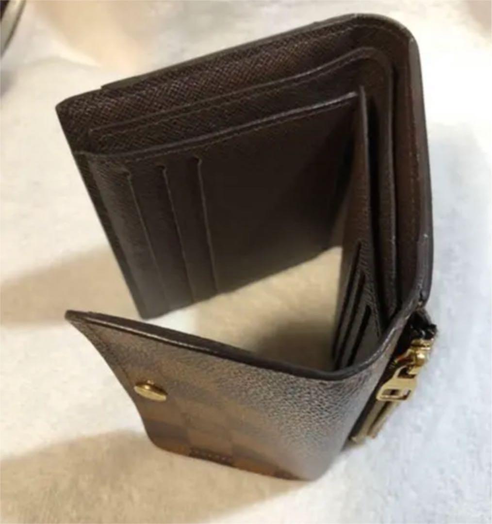 ❤️ルイ ヴィトン 折り財布 ダミエ❣️