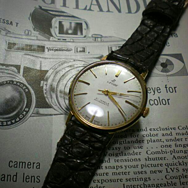 8d2efb560b メルカリ - アンティーク ビンテージleobe 手巻き式メンズ腕時計 ...