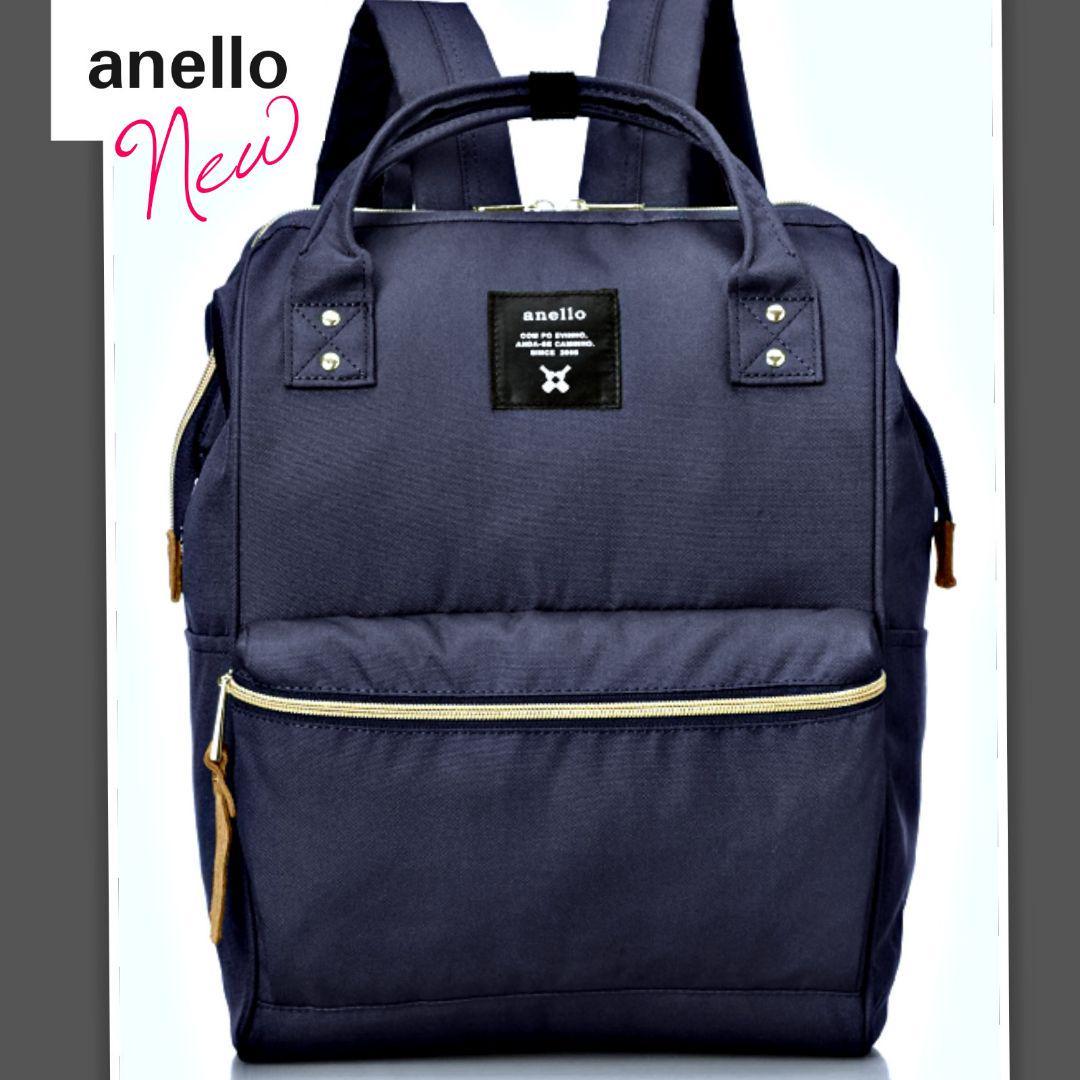 aab4714d3704 メルカリ - 完全新品 anelloリュック ネイビー 一番人気ハリウッドセレブ ...