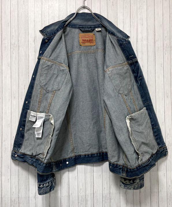 リーバイス 72334 Gジャン デニムジャケット ジーンズ ビッグサイズ XL
