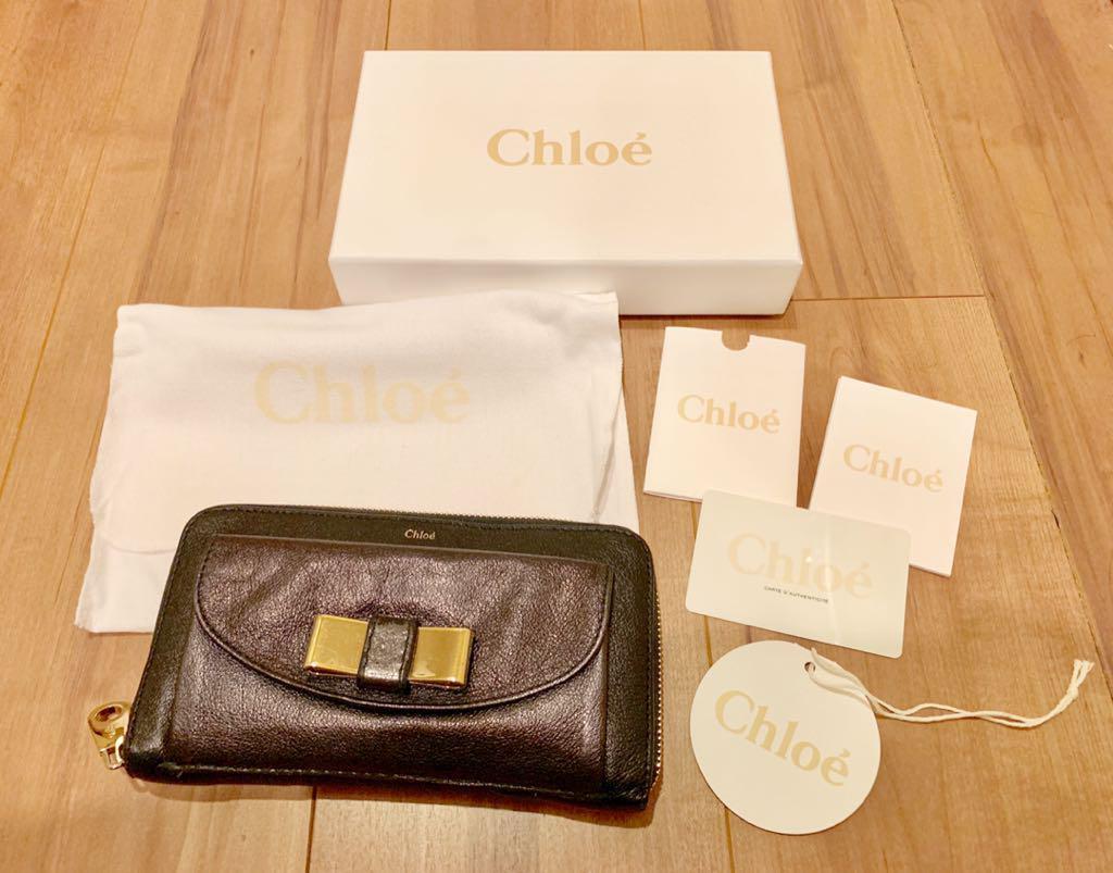 finest selection 4cb4d 98597 Chloe 財布 ラウンドファスナー 長財布 黒(¥6,500) - メルカリ スマホでかんたん フリマアプリ